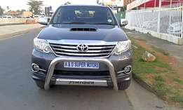 Grey 2011 Toyota Fortuner 3.0d-4d Automatic For Sale