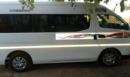 A brand new 15 seater Nissan Impendulo is on sale with 14000 km