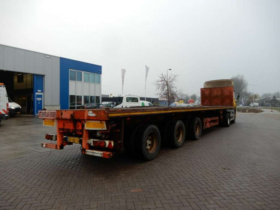 Nooteboom Flat Trailer / Extendable / Double Montage / 3x Steering - 1995
