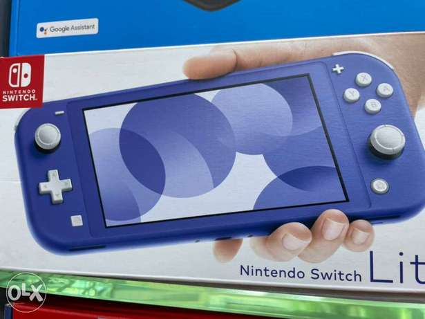 Nintendo Switch Lite The New Blue Color (New!)
