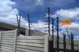 Electric fence repair and installation