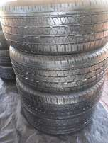 4x tyres Continental Cross Contact LX 265/60/18,Close to new!!