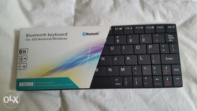 Universal Wireless Bluetooth Keyboard 4 Windows Android, iOS System,PC City Centre - image 3