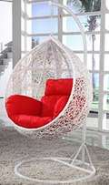 Swing chair with cushion