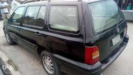 Very sound and smart automatic Golf3 wagon with factory ac