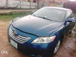 Blue Toyota Camry Muscle