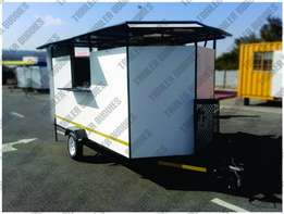 2.4m Catering/Fast Food Trailer - brand new - fully equipped and RWC