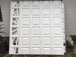New fibreglass garage tilt up doors