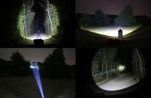 1800 Lumens KREE T6 LED Rechargeable Headlight Zoom in & Zoom out Sunridge Park - image 1