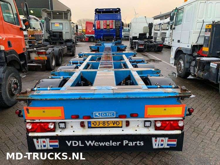 Broshuis D-Tec container chassis multi - 2007