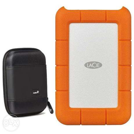 LaCie Rugged USB-C and USB 3.0 2TB Portable Hard Drive Westlands - image 6