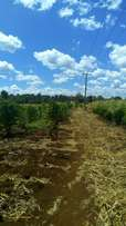 1/2 acre plot on Thika/Mangu rd next to Madaraka Primary.