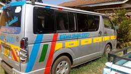 KCE Toyota Hiace petrol Matatu on quick sell just buy and drive