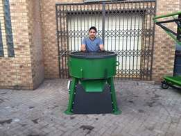 New 200L (Single or 3 Phase) Pan Mixers For Sale
