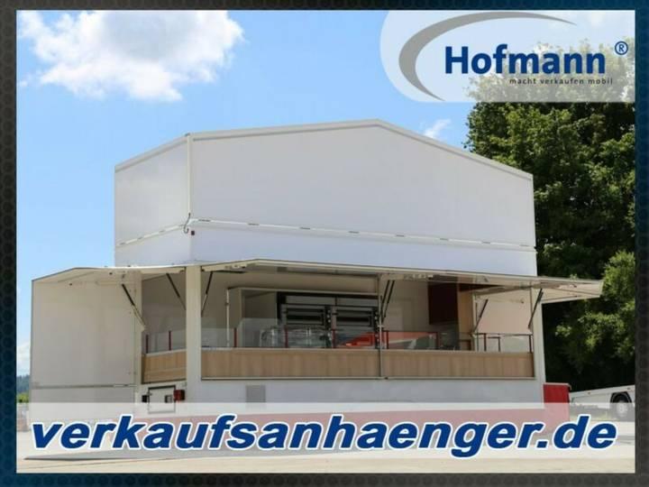 Hofmann verkaufsanhänger 600x223x230cm 3500kggg