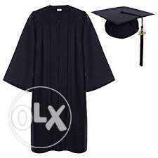 cap and gown -روب و كاب حفله تخرج