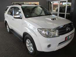 2011 Toyota Fortuner 3.0 D-4D R/B A/T R249995