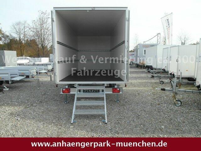 Unsinn Iso-Koffer mit Ausziehtreppe 3,0t. 486x204x210cm