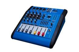 4 channel mixer with amplifier