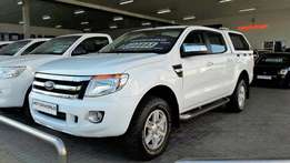 2013 Ford Ranger 3.2 TDCi XLT D/C 6 Speed