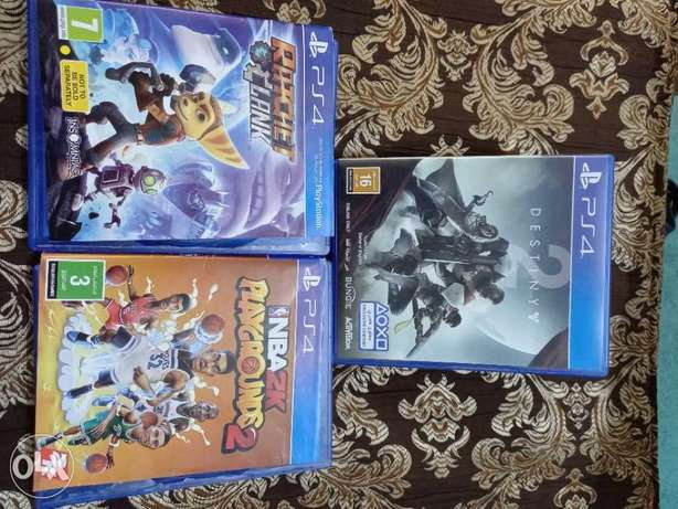 PS4 CD for sale, 3 CD's only KD 10