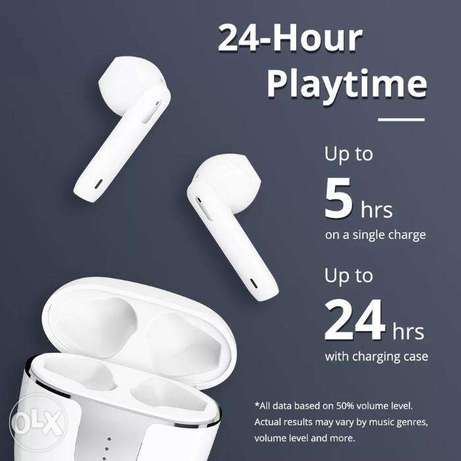 Tronsmart Onyx Ace Earphones Noise Cancellation with 4 Microphones,24H الرياض -  2