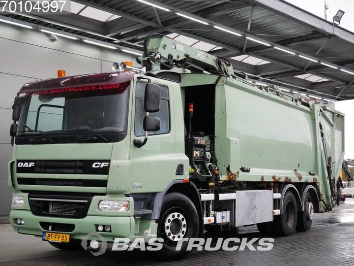 DAF CF75.250 6X2 Manual Lenkachse Euro 5 Hiab 144 ES-3 HiPro - 2007