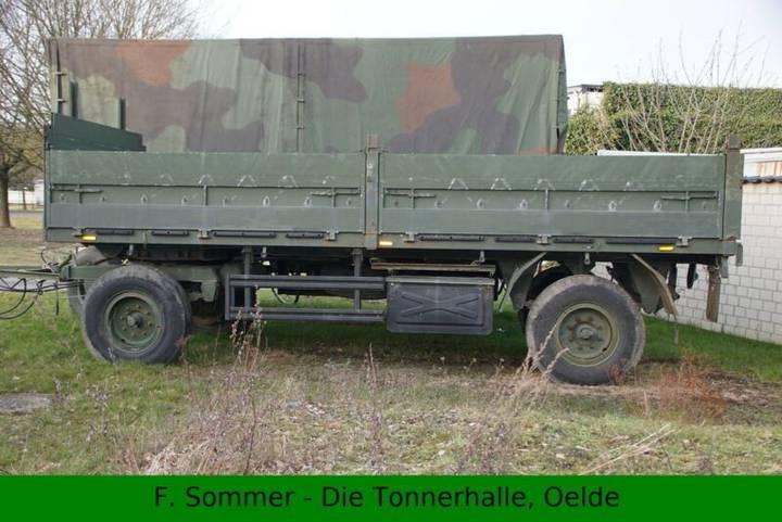 Kaessbohrer 7to Anhänger - Bundeswehr BW - 1990
