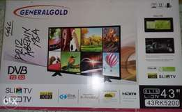 "43"" Energy Saving Slim Full HD TV (Brand New)"