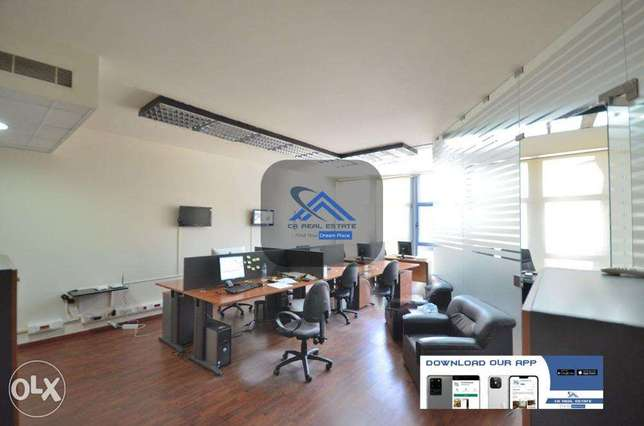 office with furniture for rent cash حازمية -  3