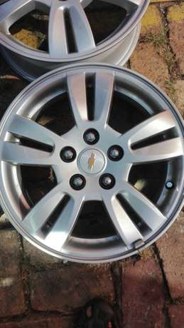 Chevrolet Sonic mags 15 inch 5/105pcd Lenasia-Suid - image 2