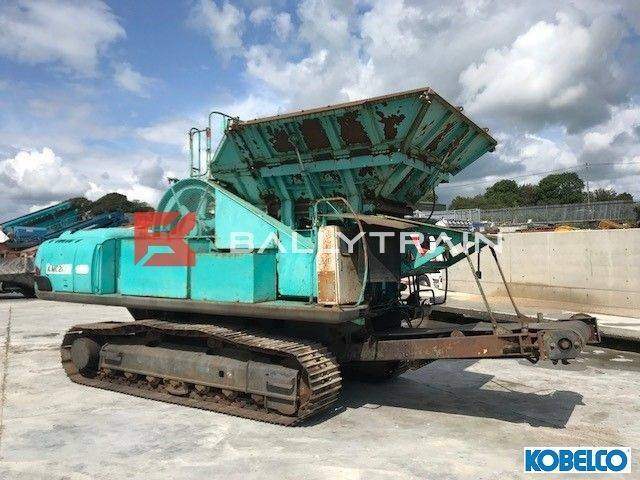 Kobelco Kmc200 Tracked Jaw Crusher - 2002