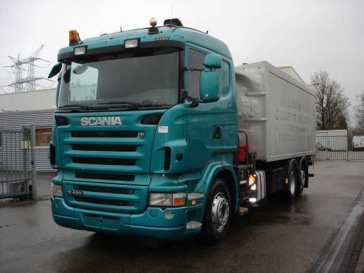 Scania R 480 GRUA - 2008