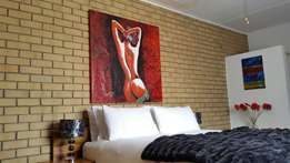 Self-catering accommodation 100km from Bothaville