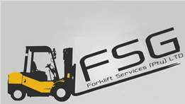 FSG Forklift Services New & Used Forklift Offers.