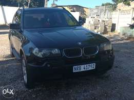BMW X3 its in a good condition and its accident free