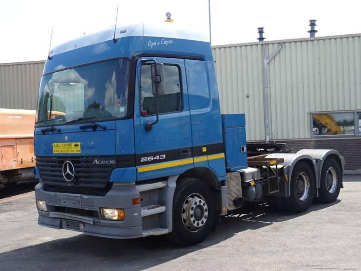 Mercedes-Benz 2643 Actros 6x4 Heavy Duty Tractor V6 Good Condition - 2001