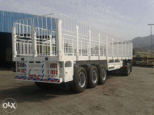 new flat deck semi-trailers with 70 ton loading capacity