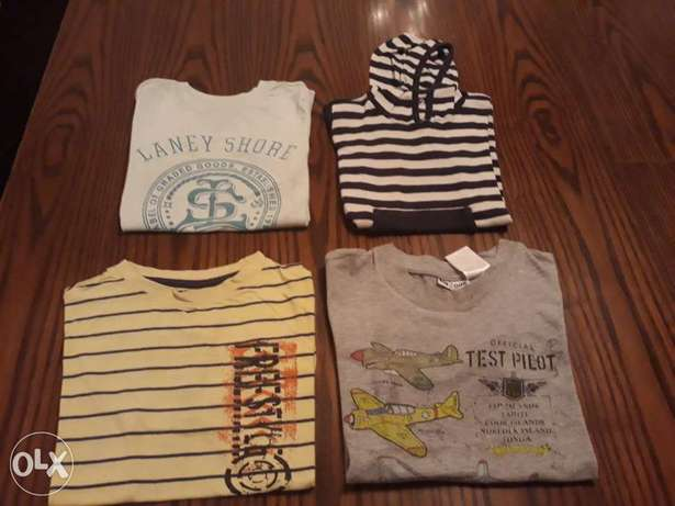 Boy's T-shirts size 6-10 years
