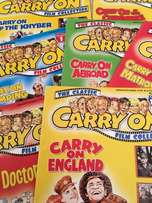 8 Carry On...Film Collection Collectors Magazines