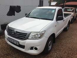 2012 Toyota Hilux 2.0 VVTi Single Cab