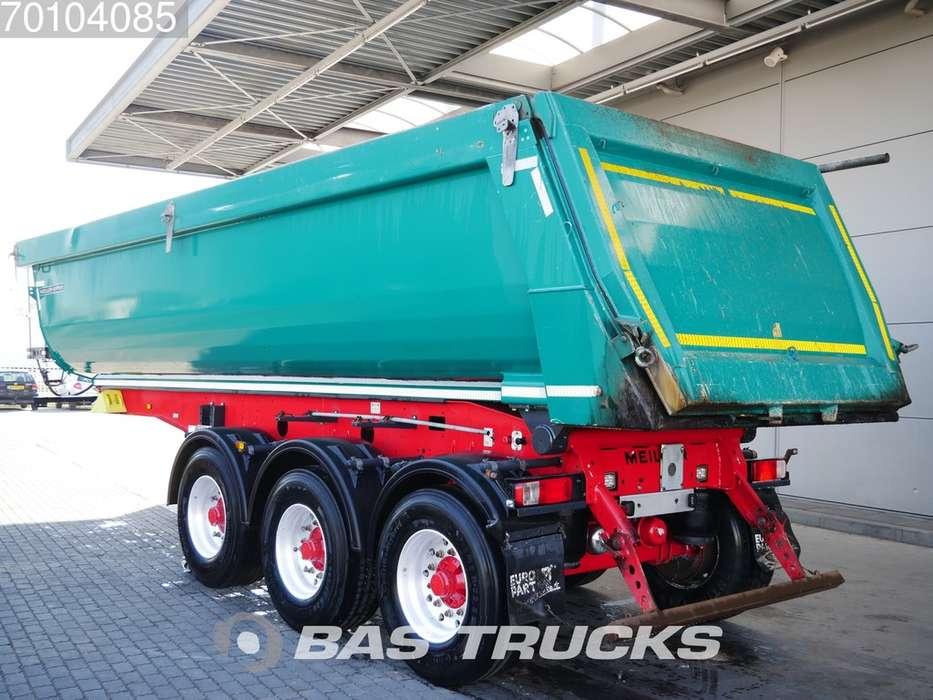 Meiller Kisa3 26m3 Stahlkipper Liftachse BPW - 2015