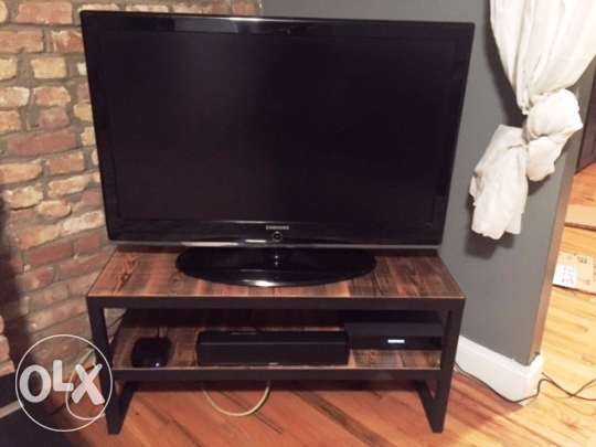 [ Industrial steel - TV console ]