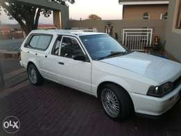 Bantam 1.6 bakkie with 2 canopies for sale or swop for double cab WHY