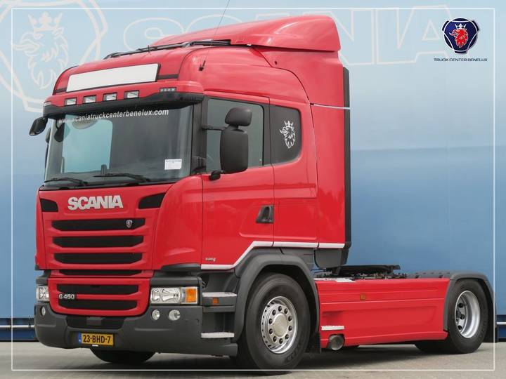 Scania G450 LA4X2MNA   SCR-only   Navi   LZV - 2016