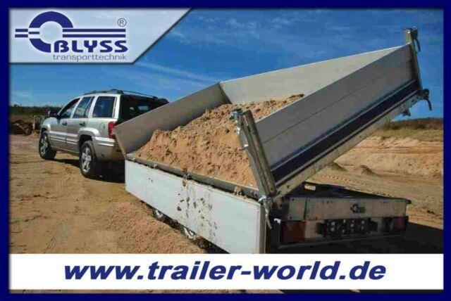 Blyss 3 Seitenkipper Anhänger 314x175x40cm 3500kg GG