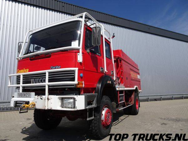 Iveco Camiva 6000 4x4 190-30, feuerwehr - fire brigade - brandw... - 1992