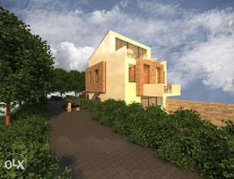 135 m2 villa on 640 m2 land with a pool / view for sale in Loutraki