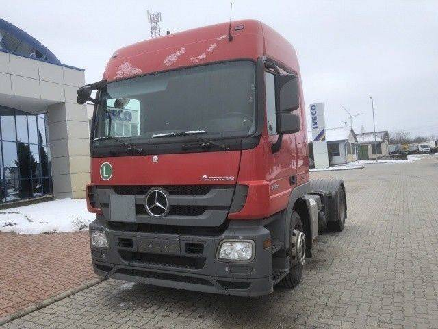 Mercedes-Benz Actros nyergesvontat hidraulika - 2012