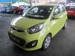 2013 Kia Picanto 1,2 engine